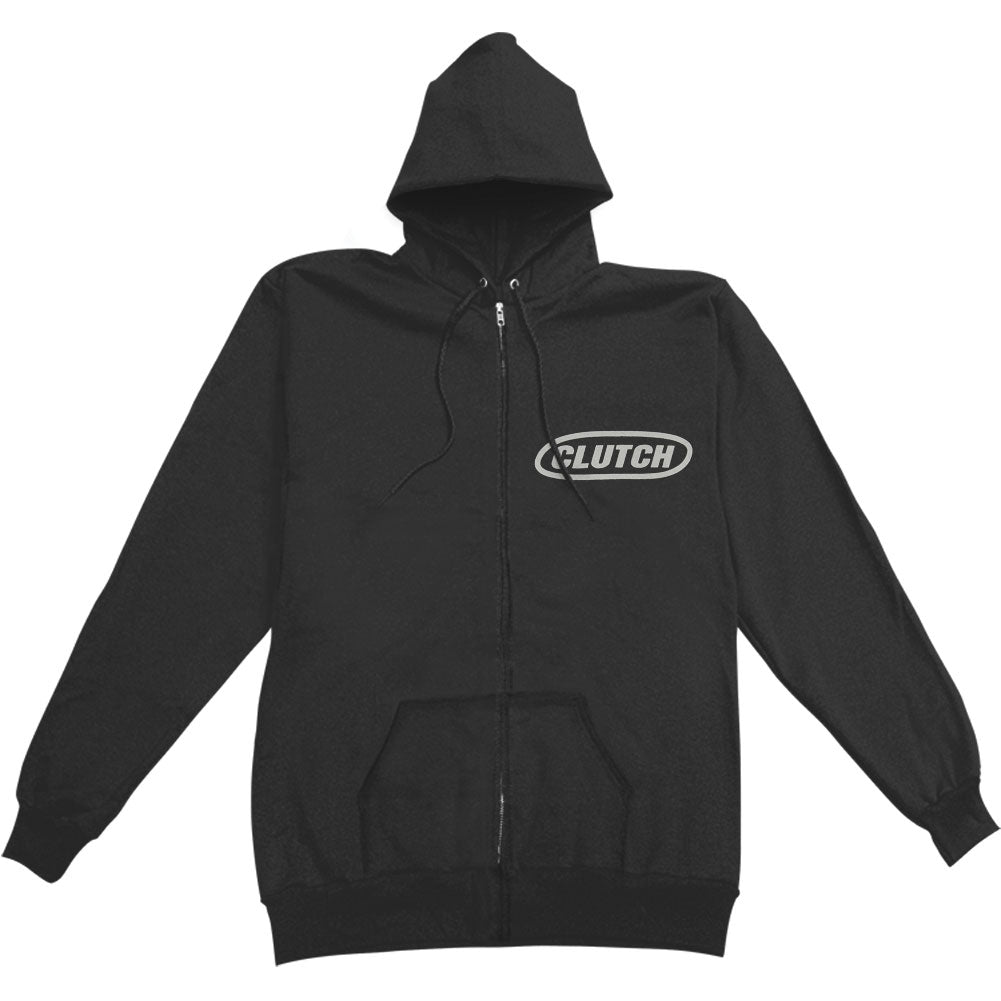Hess 454 Zippered Hooded Sweatshirt