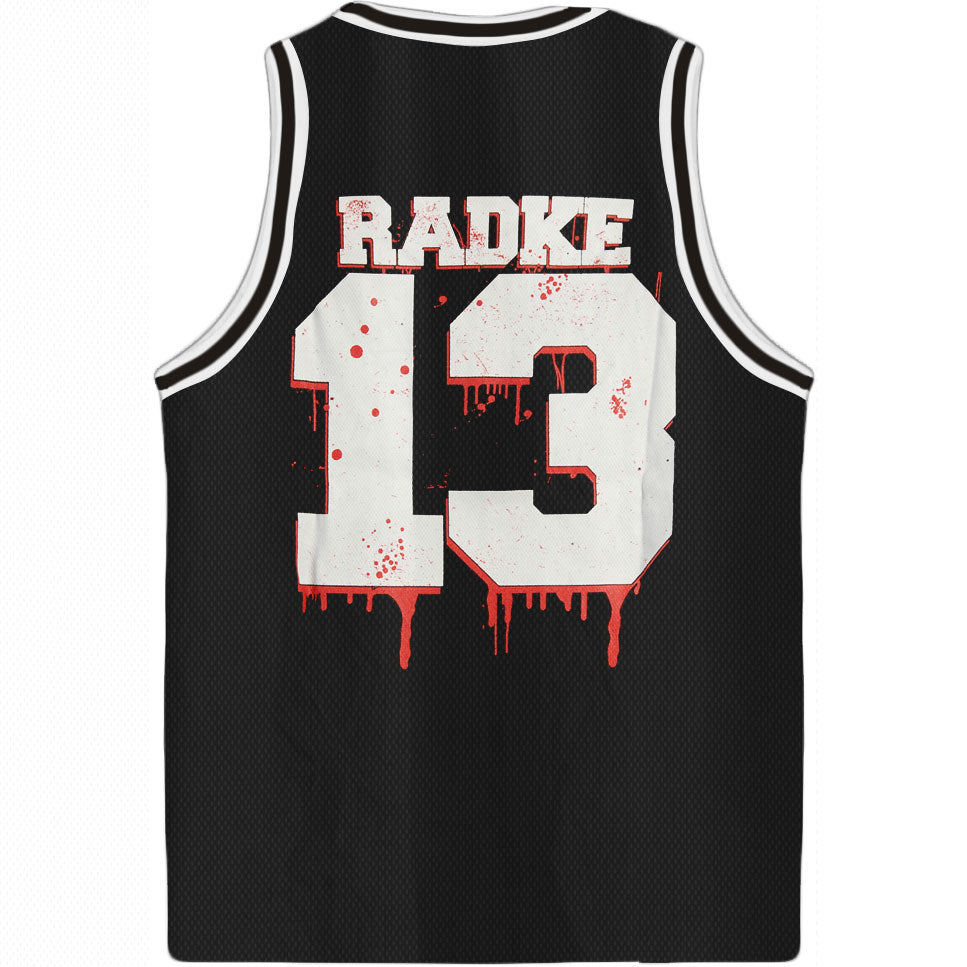 Ronnie Radke 13 Basketball  Jersey