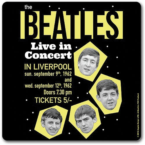 Live In Concert Coaster