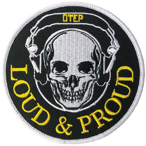 Loud And Proud Embroidered Patch