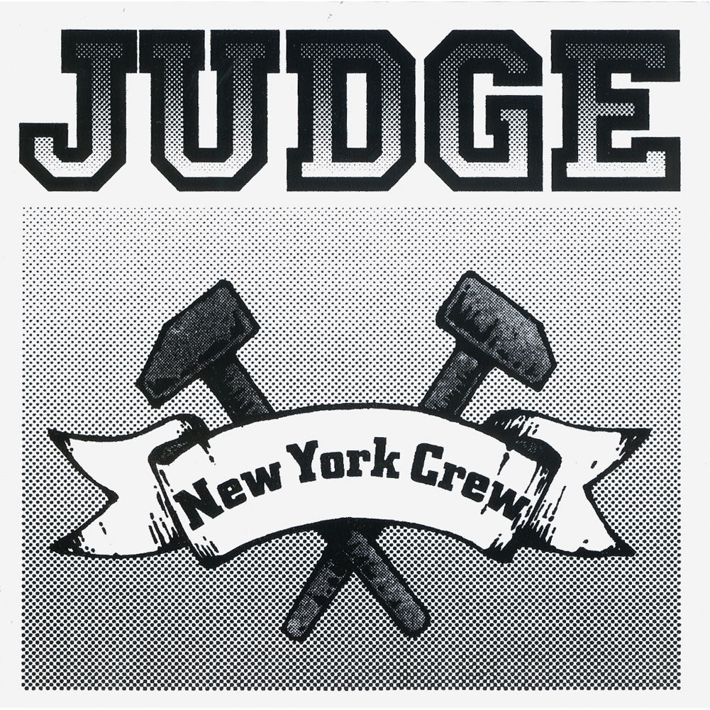 New York Crew (Black And White) Sticker