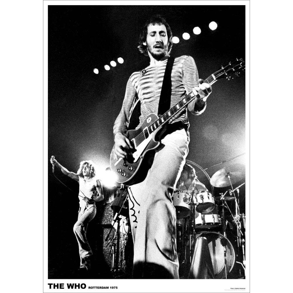 Pete Townsend Import Poster