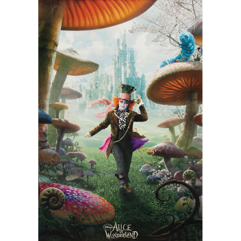 The Mad Hatter Domestic Poster