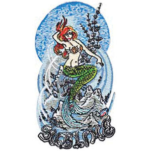 Mermaid Embroidered Patch