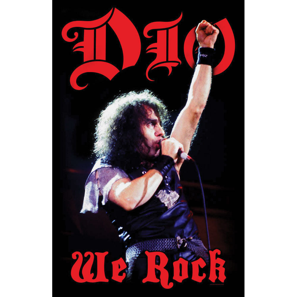 We Rock Poster Flag