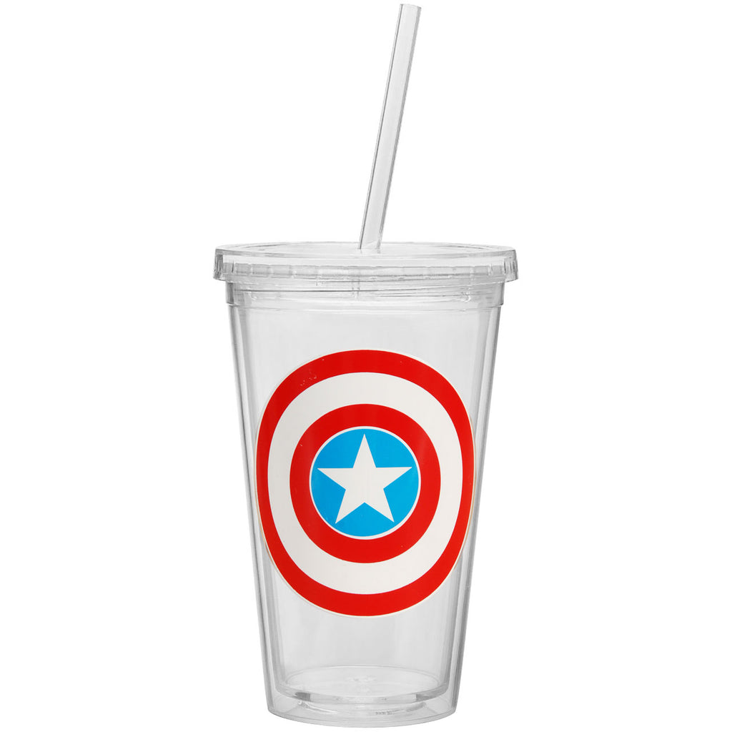 Shield Straw Tumbler