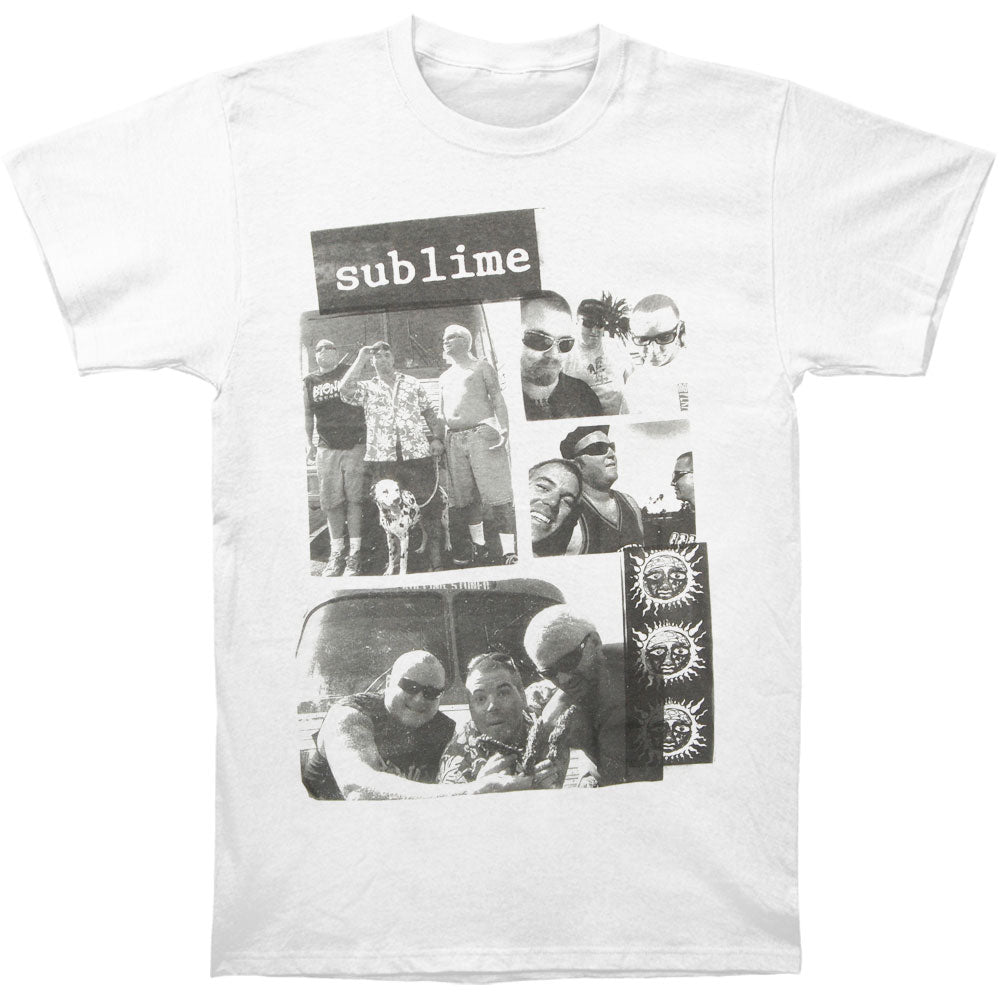 B&W Box Photos Slim Fit T-shirt
