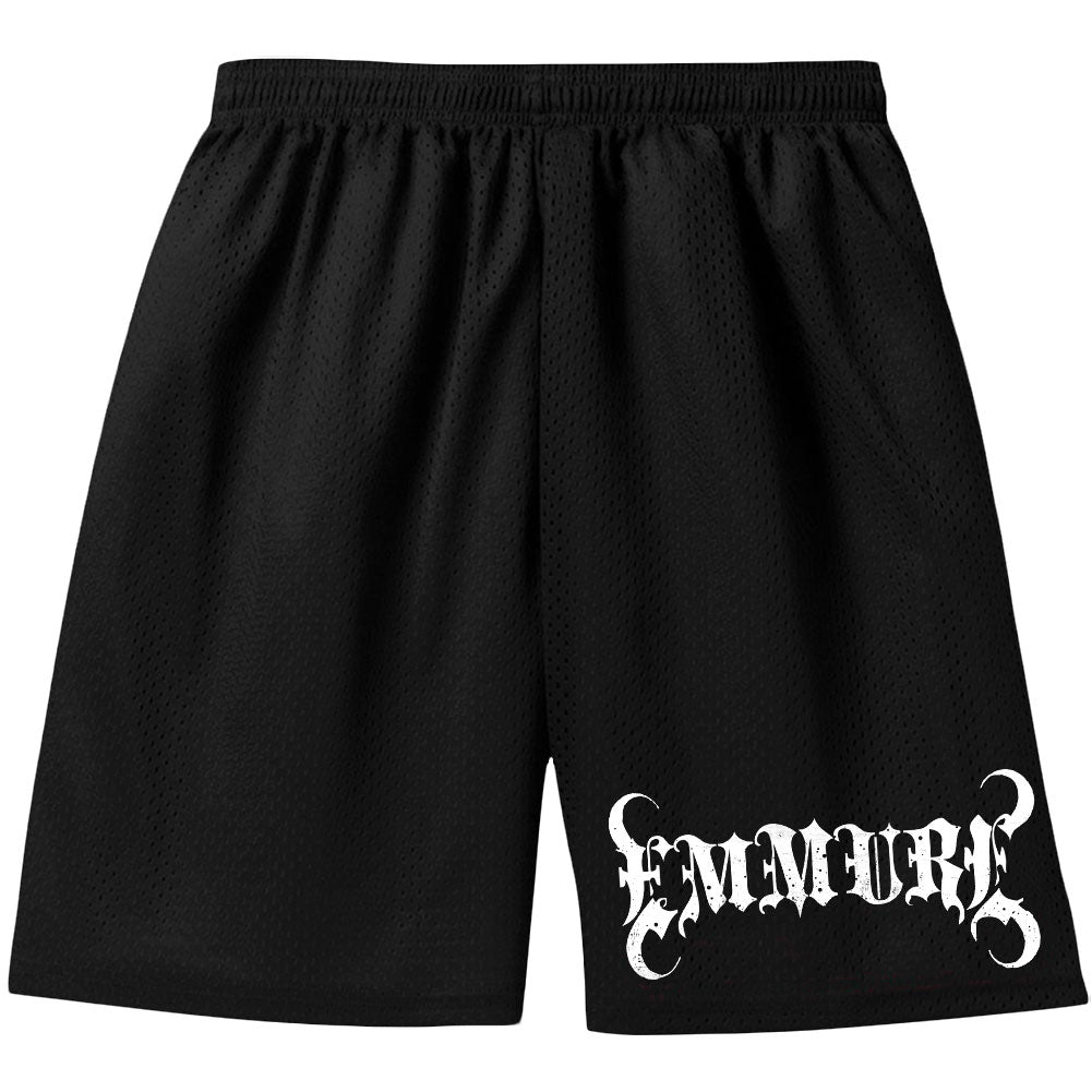 The Classic Emmure E Logo Gym Shorts