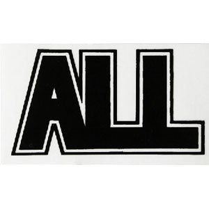 Logo Black Sticker