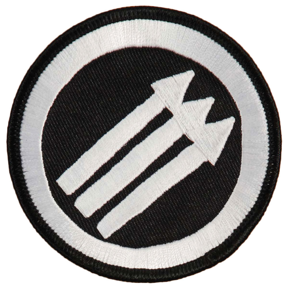 Strike Anywhere Anti Embroidered Patch