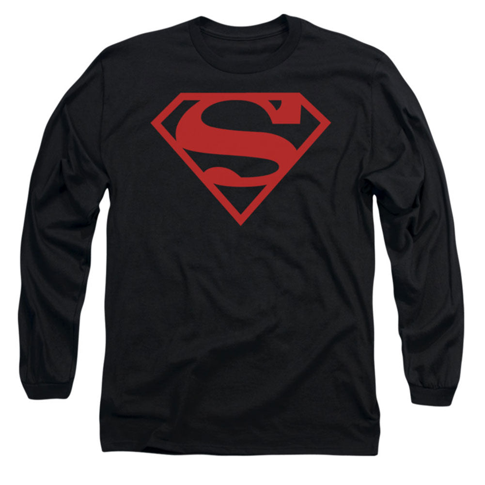 Red On Black Shield Long Sleeve
