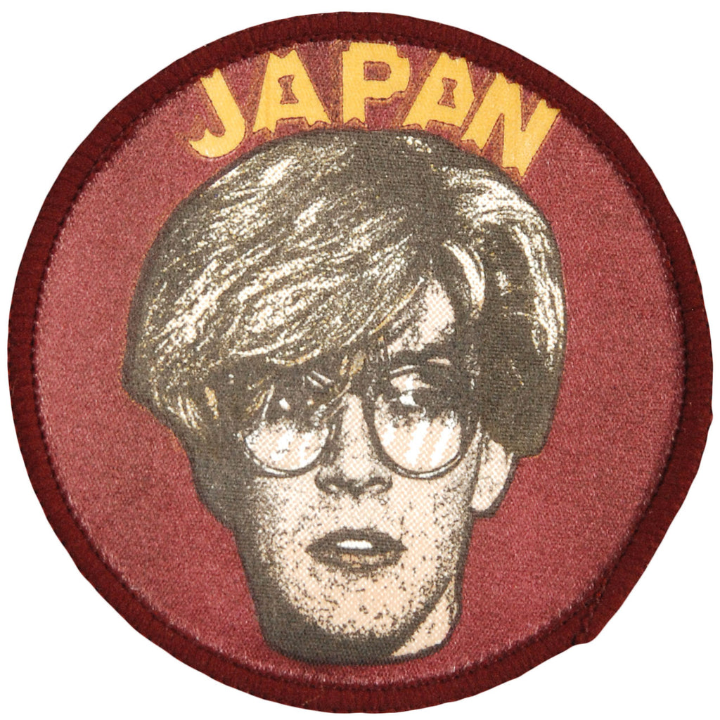 David Sylvian Of Japan Woven Patch