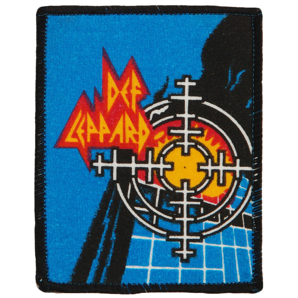 Pyromania Square (Black Border) Screen Printed Patch