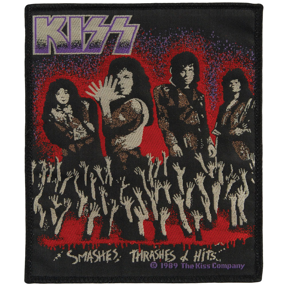 Smashes, Thrashes & Hits Woven Patch