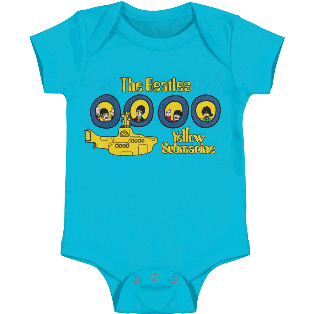 Yellow Submarine Portholes Bodysuit