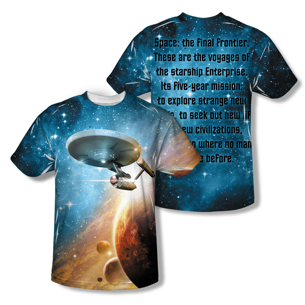 Final Frontier Sublimation T-shirt