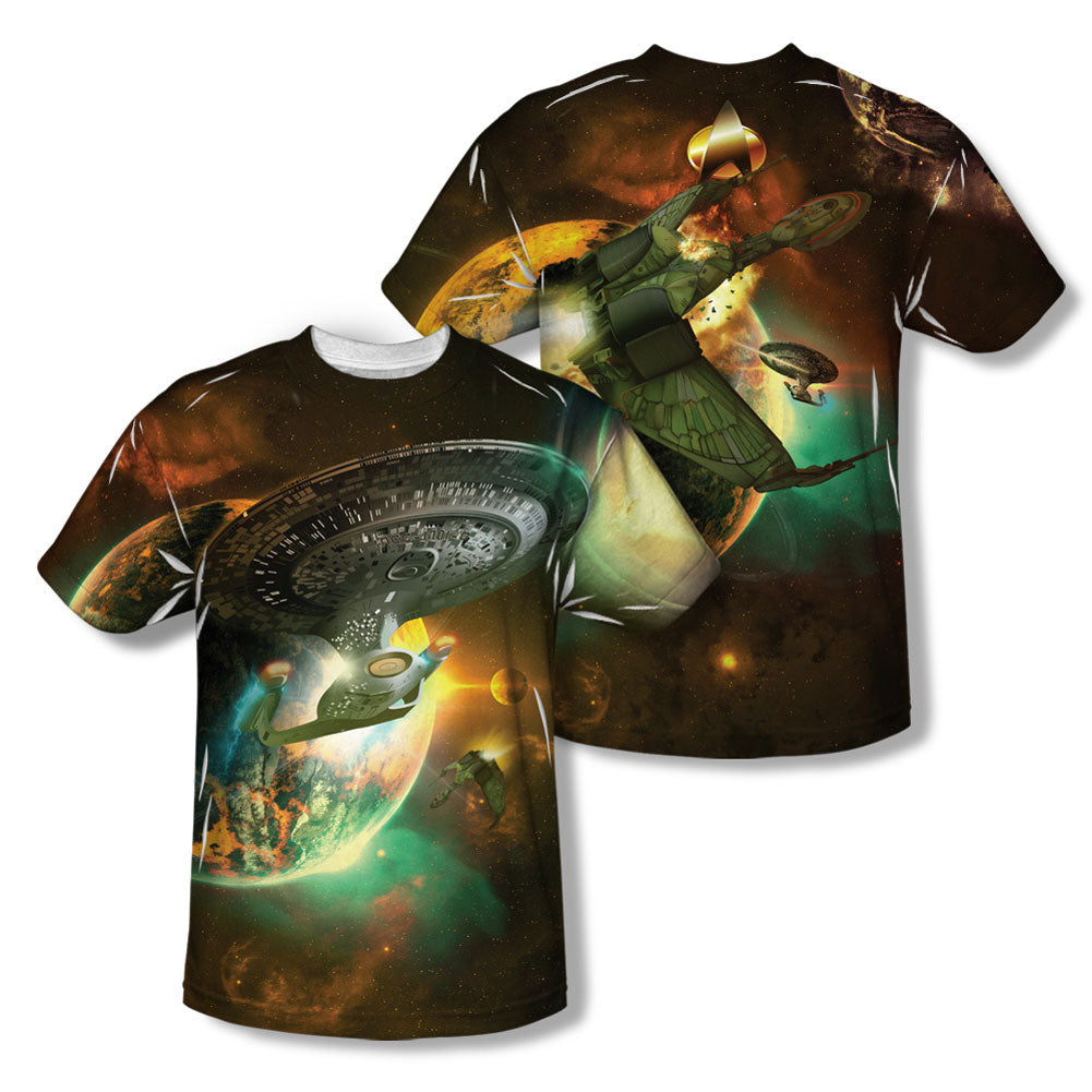 Battle Ships  Sublimation T-shirt