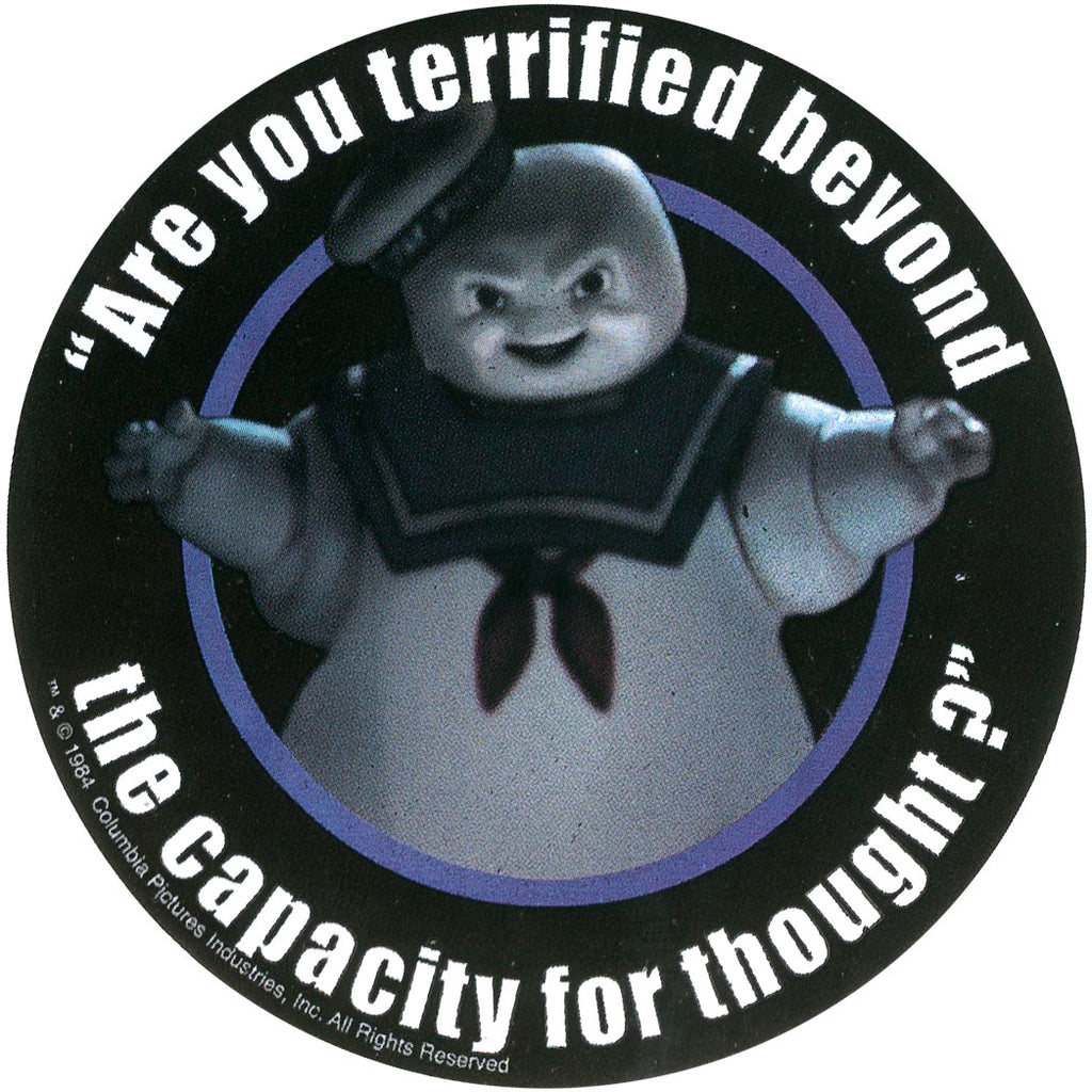 Terrified Sticker