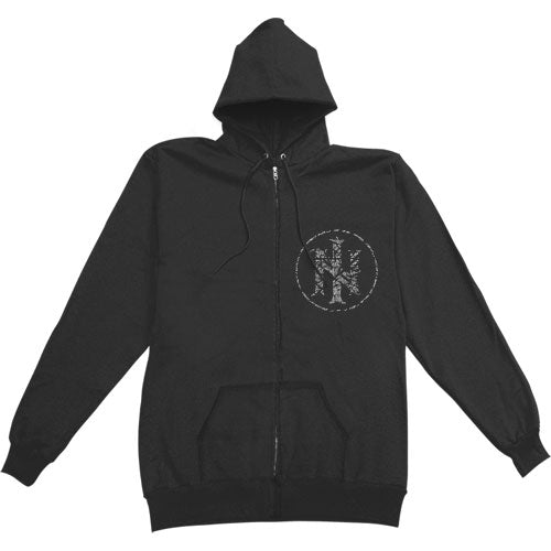 Prophecy Zippered Hooded Sweatshirt