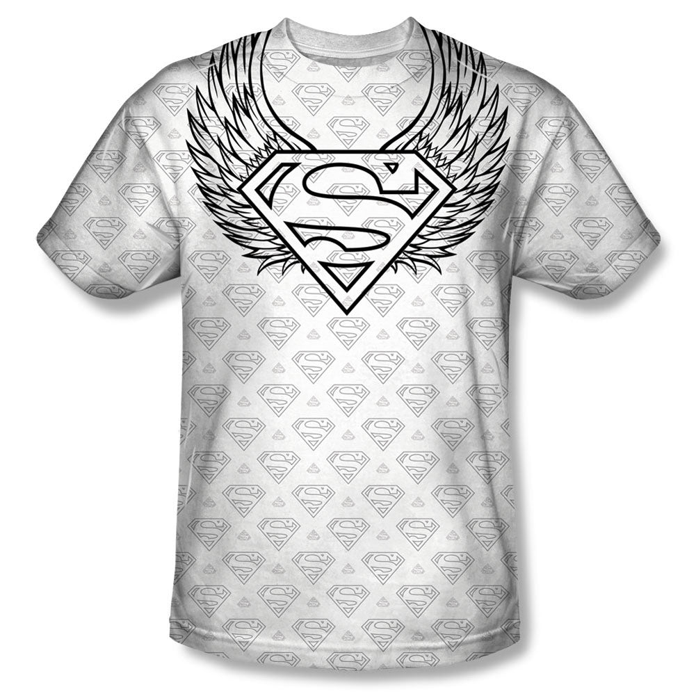 Winged Shield Repeat Sublimation T-shirt