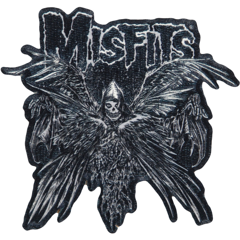 Descending Angel Embroidered Patch