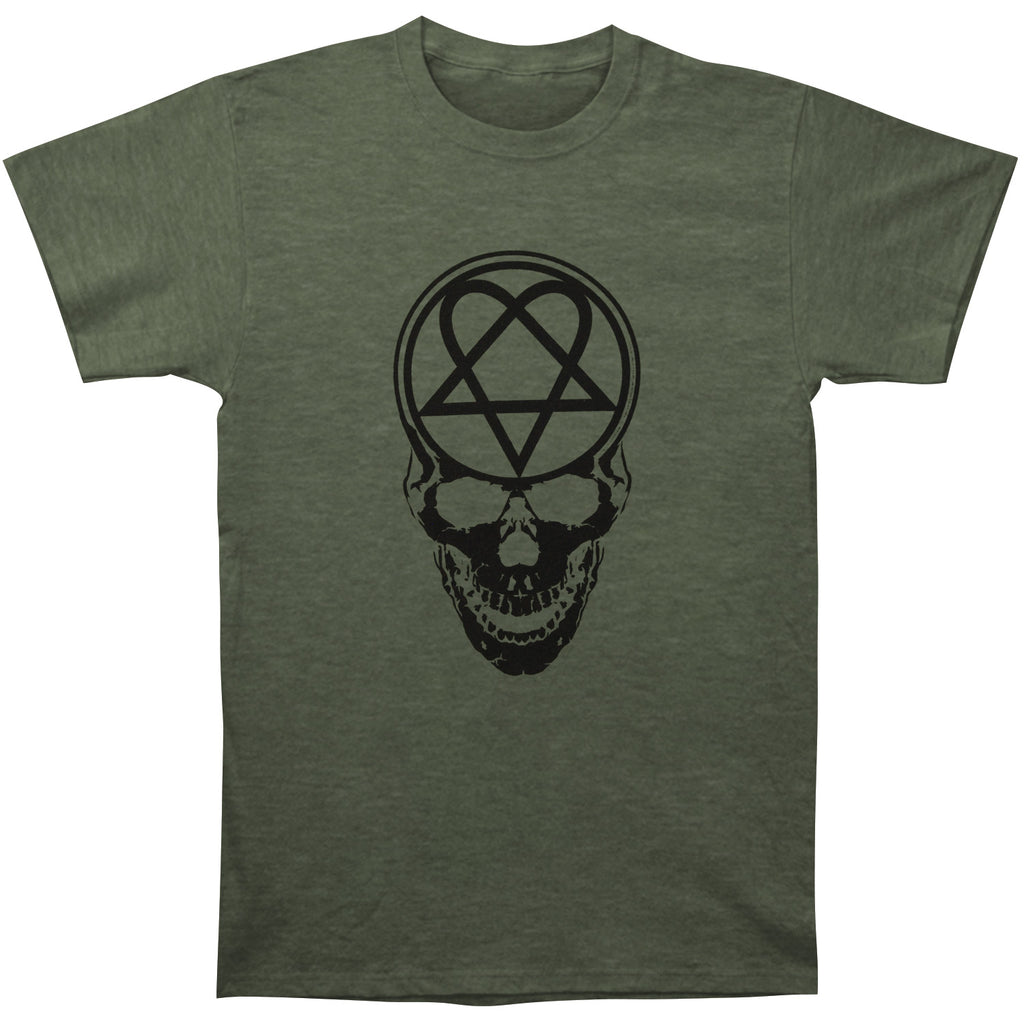 Heartagram Skull T-shirt
