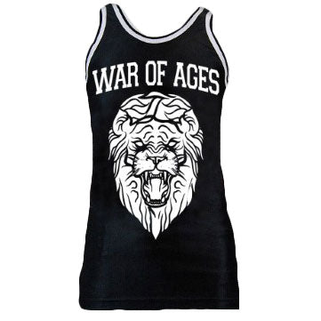 War Of Ages Lion Basketball  Jersey