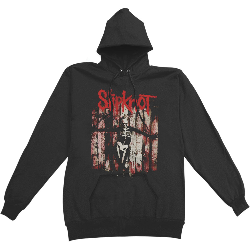 Gray Chapter Skeleton Hooded Sweatshirt