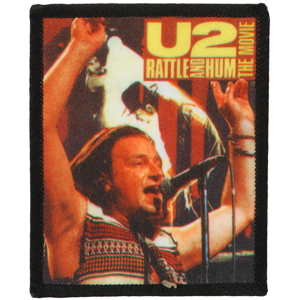 Rattle And Hum The Movie Screen Printed Patch