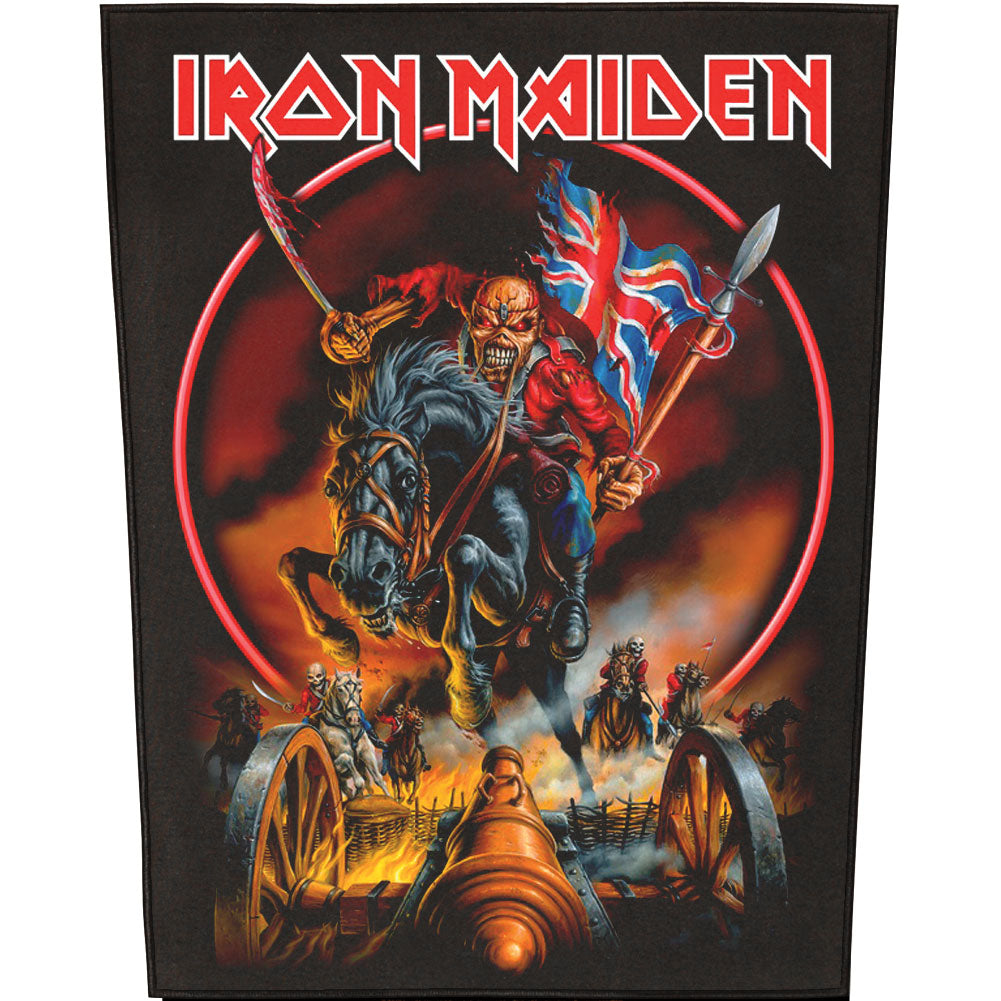 Maiden England Back Patch