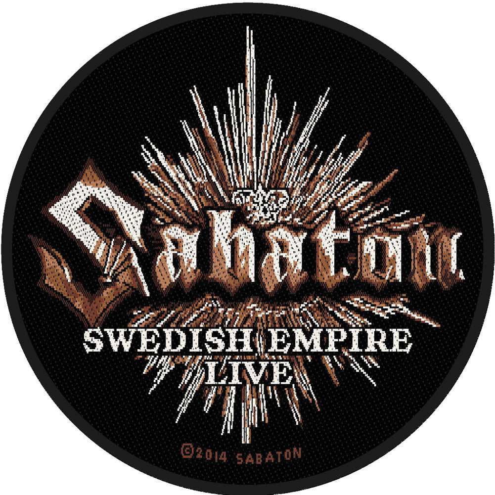 Swedish Empire Live Woven Patch