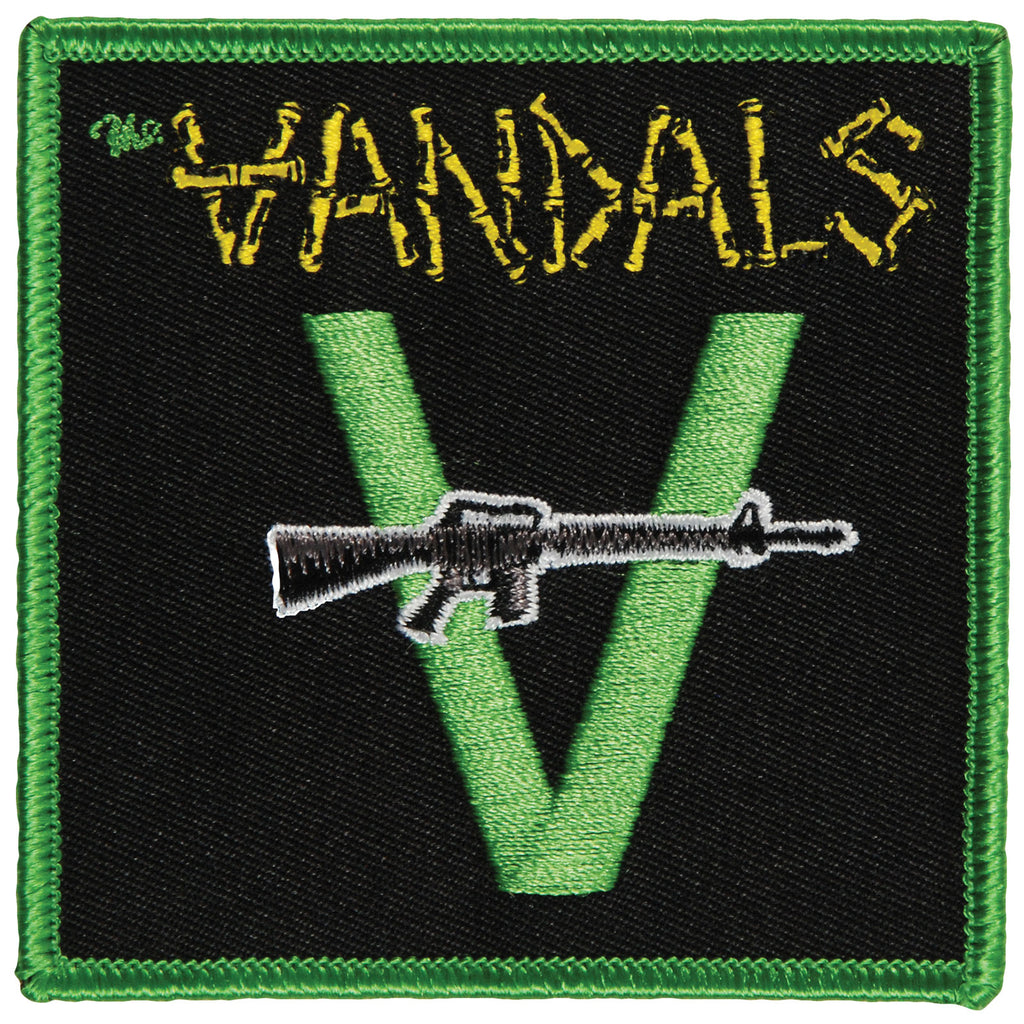 Machine Gun Embroidered Patch