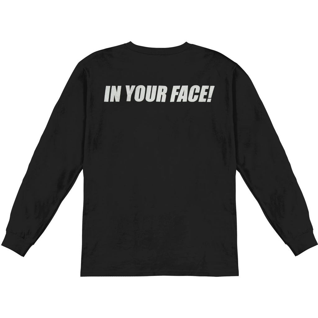 In Your Face  Long Sleeve