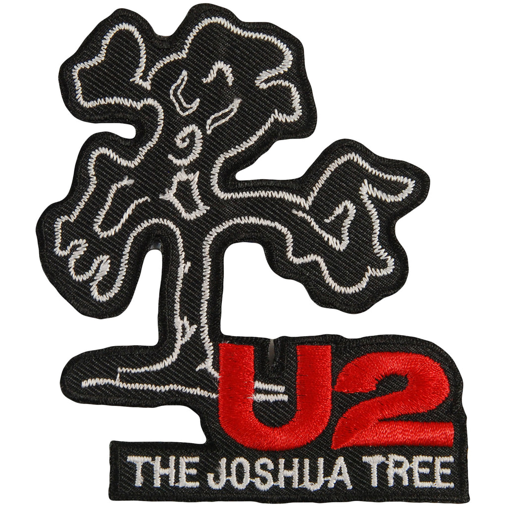 Joshua Tree Die Cut Embroidered Patch