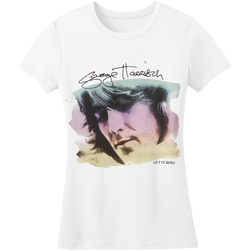 George Harrison Watercolor Portrait Junior Top