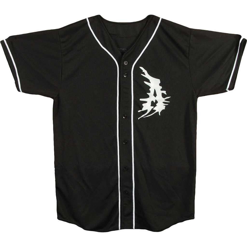A Logo Authentic Baseball  Jersey