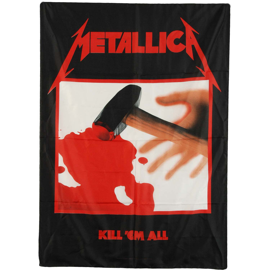 Kill Em All Poster Flag