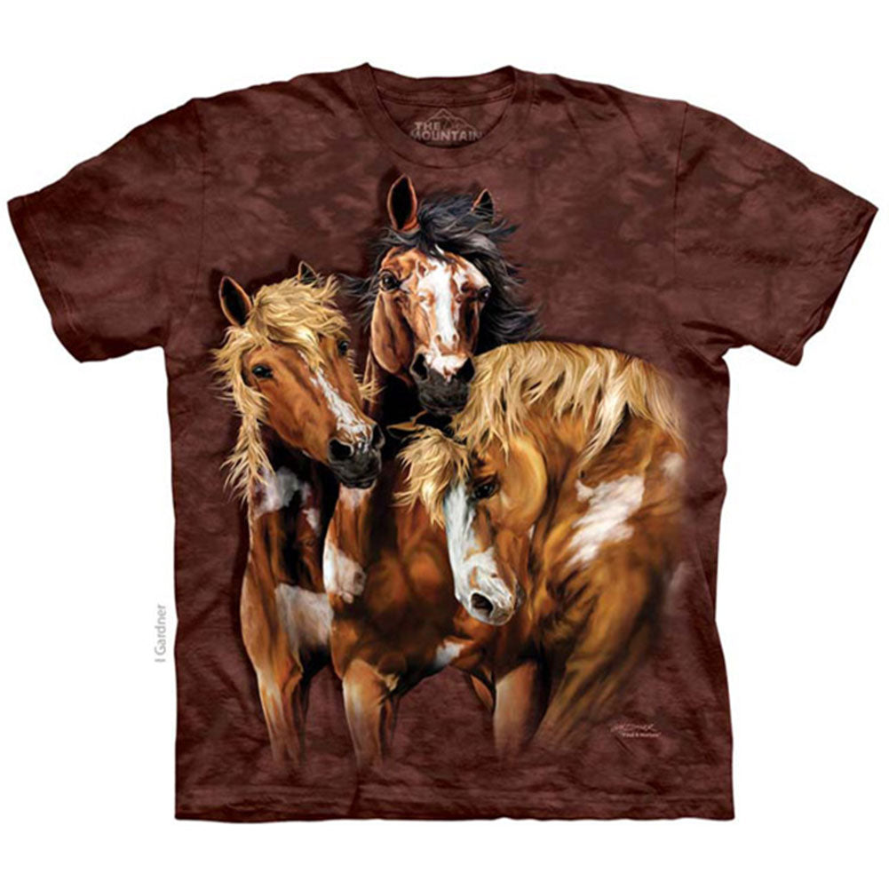 Find 8 Horses Small T-shirt