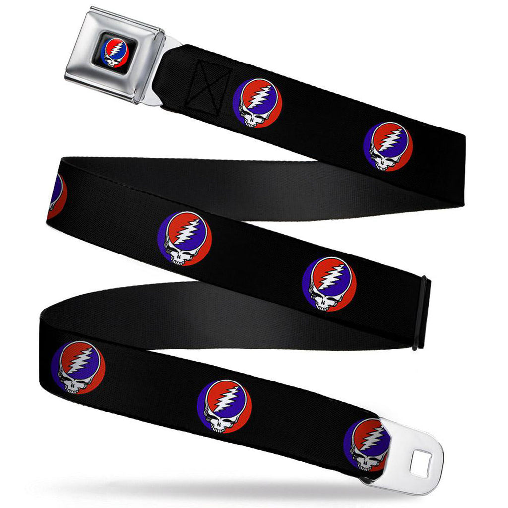 Steal Your Face Repeat Seatbelt Buckle Belt