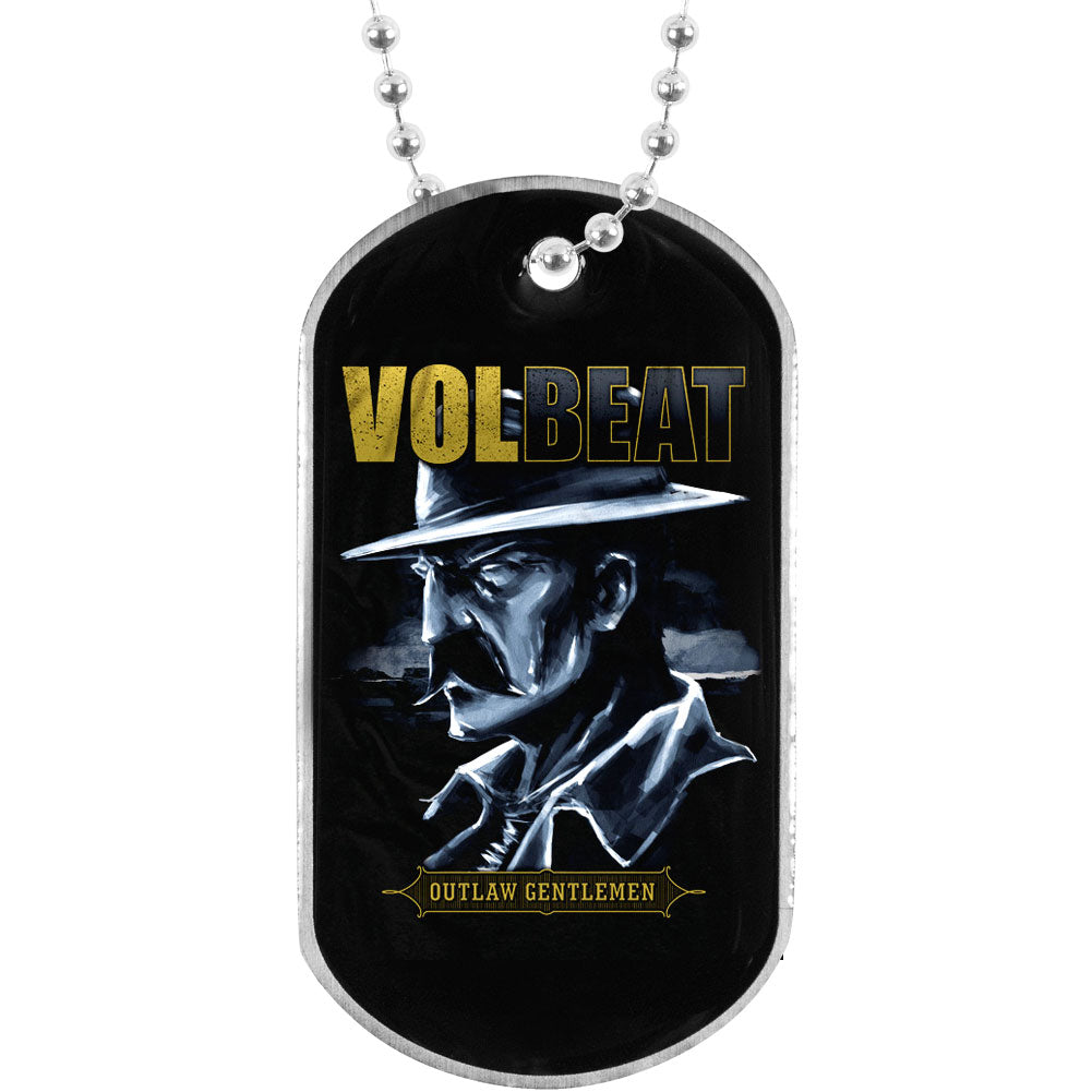 Outlaw Gentlemen Dog Tag Necklace