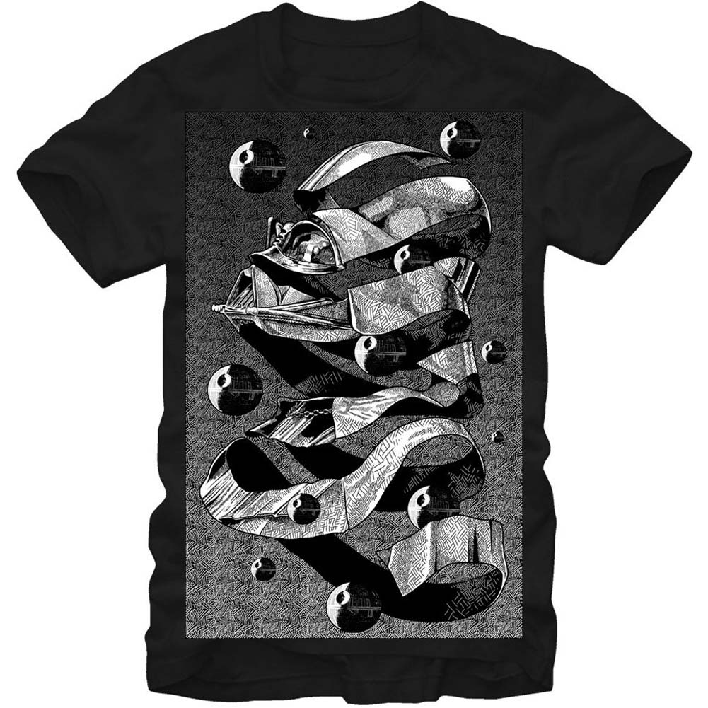 Abstract Slim Fit T-shirt
