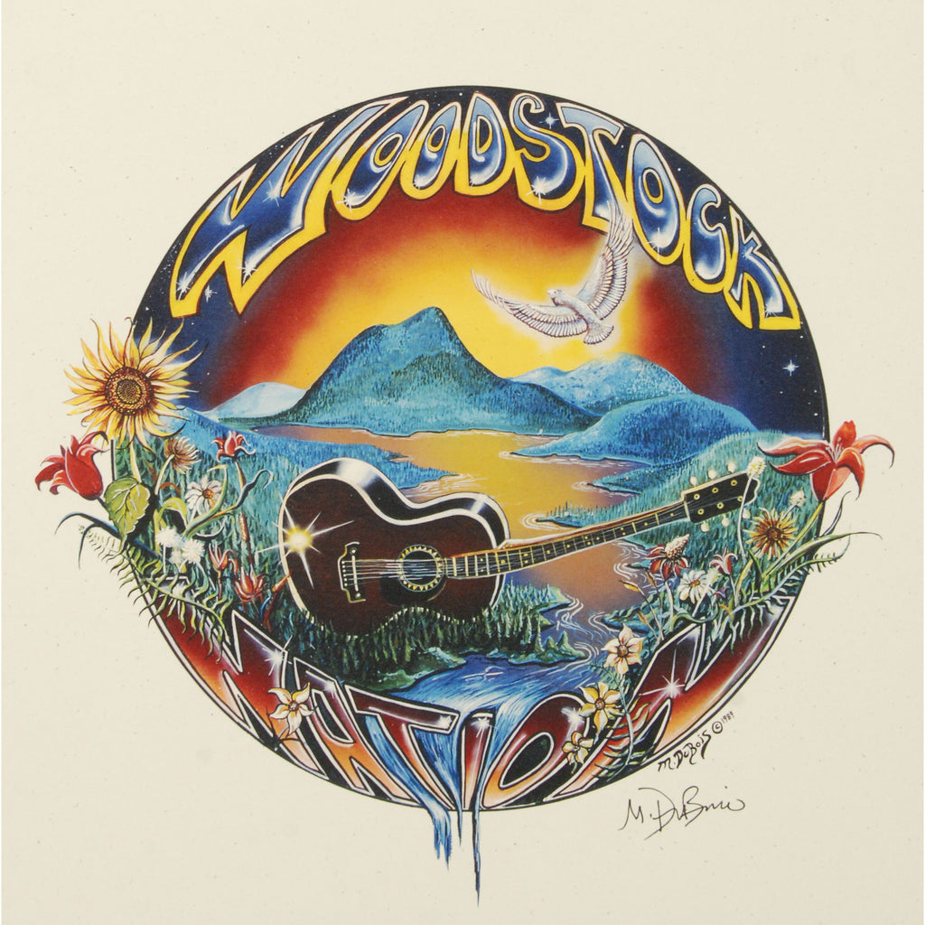 Woodstock Nation Poster Print
