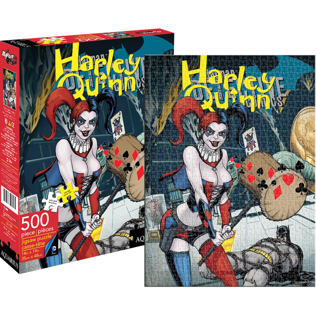Haley Quinn Cover Puzzle