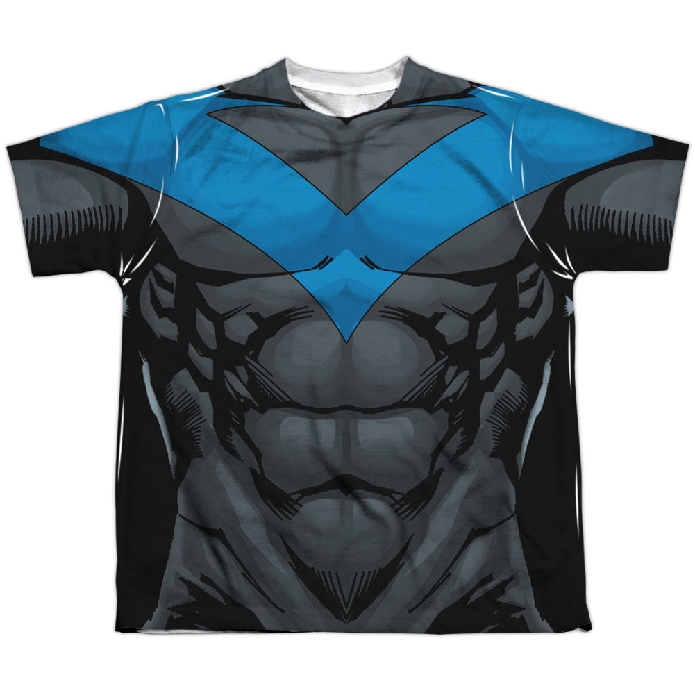 Nightwing Blue Uniform Sublimation T-shirt