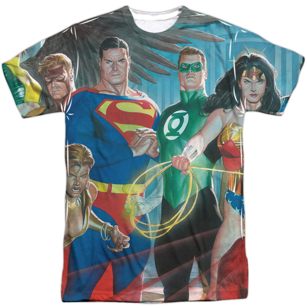 League Of Heroes Sublimation T-shirt