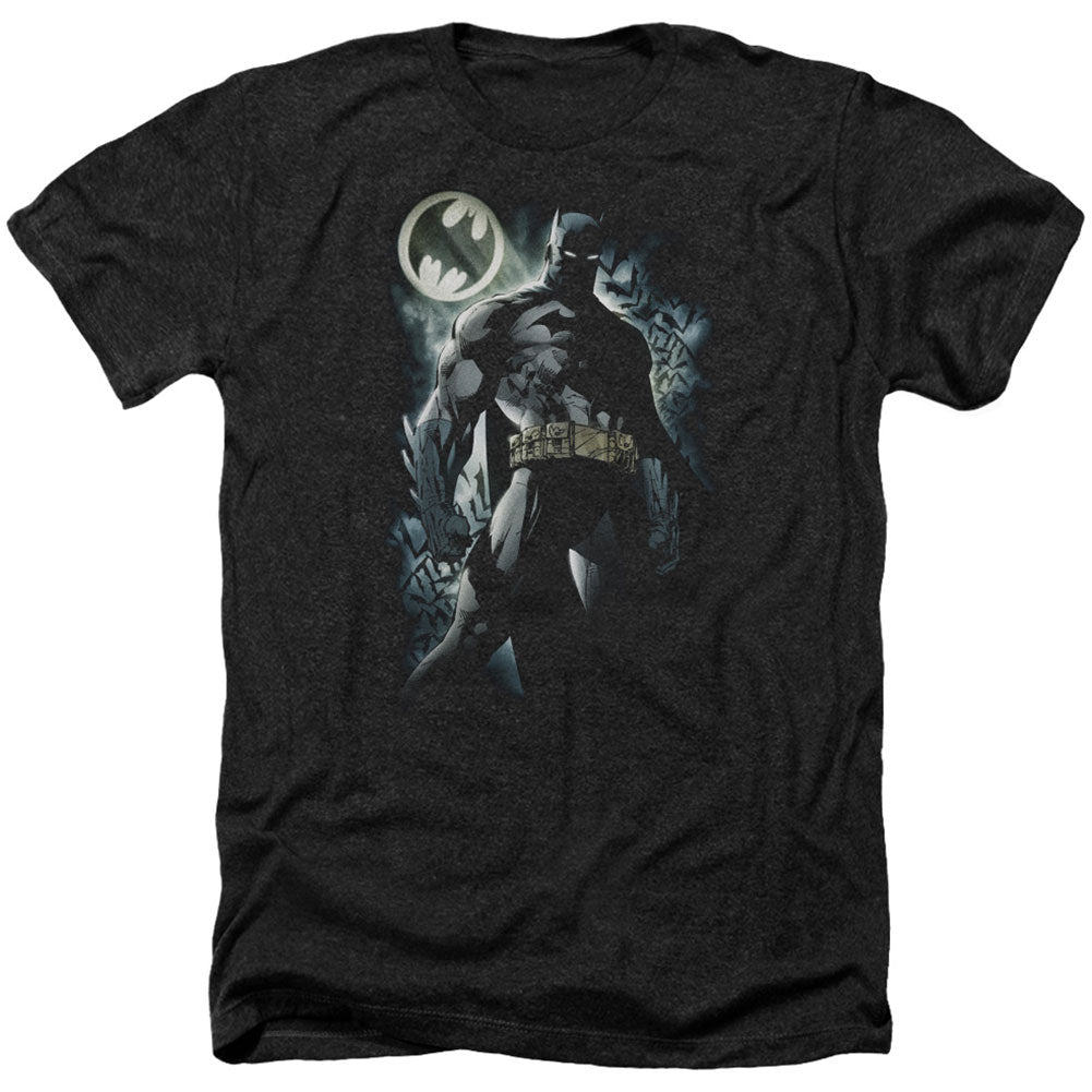 The Knight Adult Heather 40% Poly T-shirt