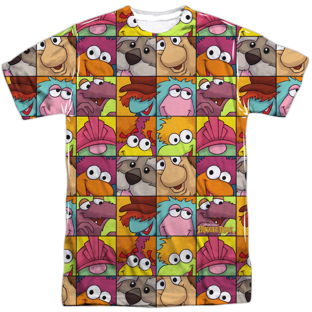 Character Squares 100% Poly Sublimation T-shirt