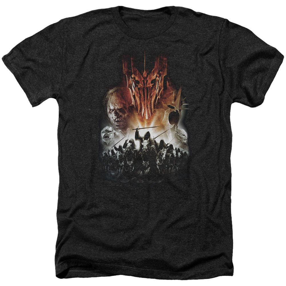 Evil Rising Adult Heather 40% Poly T-shirt