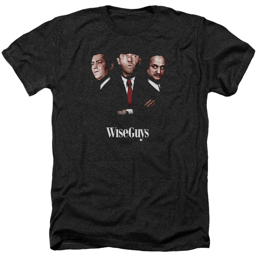 Wiseguys Adult Heather 40% Poly T-shirt