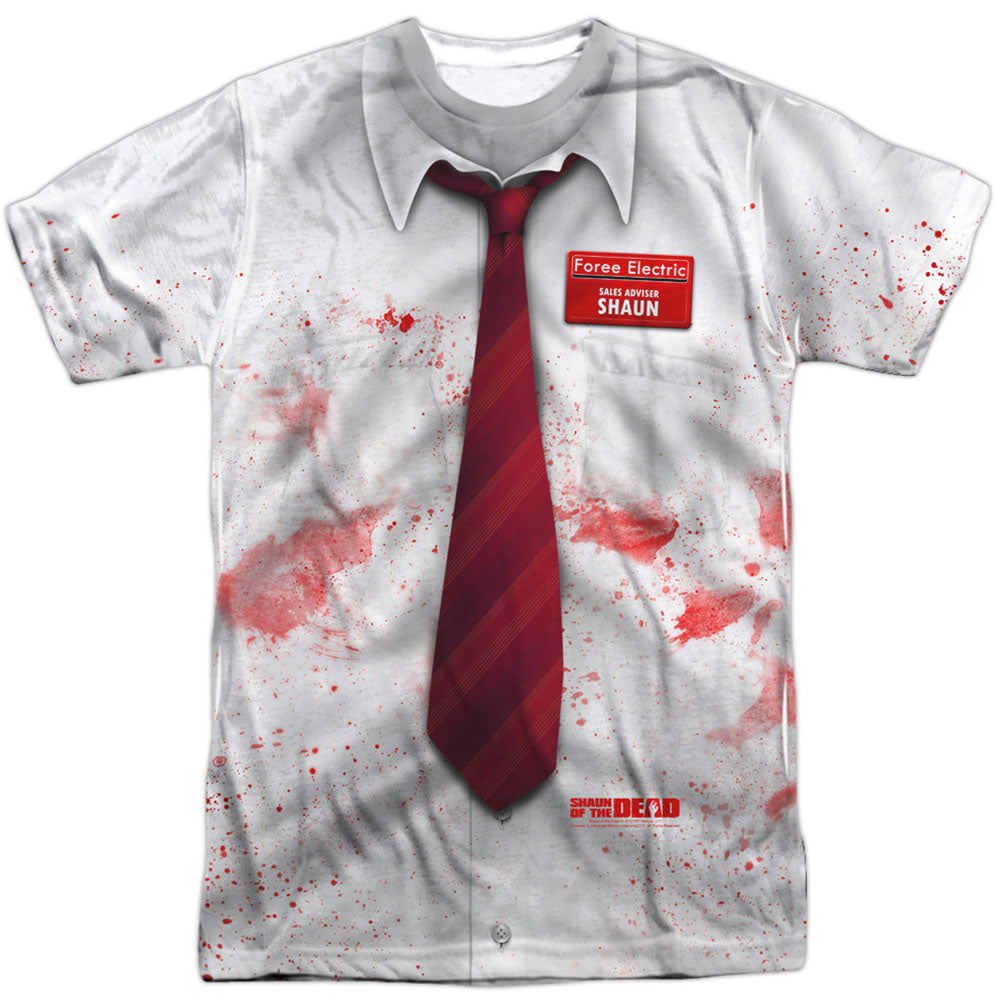 Bloody Shirt 100% Poly Sublimation T-shirt